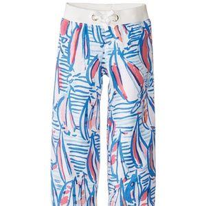 LILLY PULITZER Girls linen Beach Pants